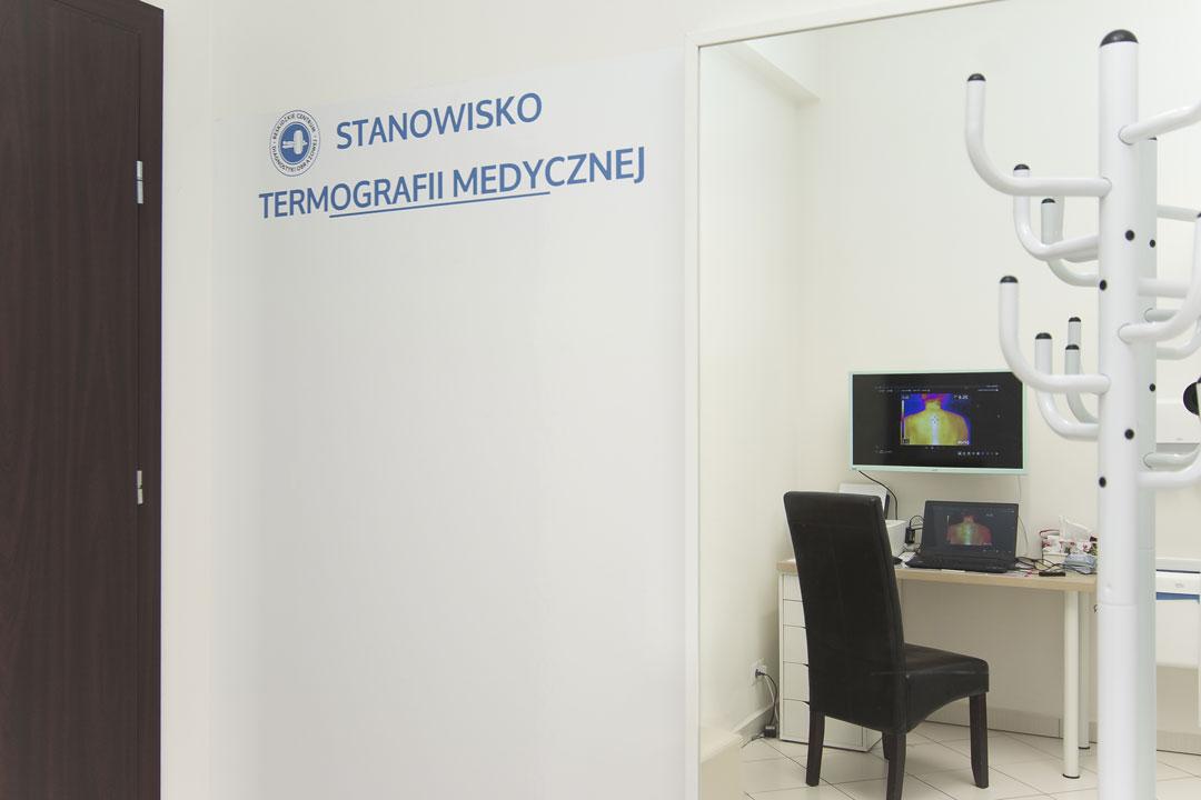 Stanowisko termografii medycznej w Katowicach