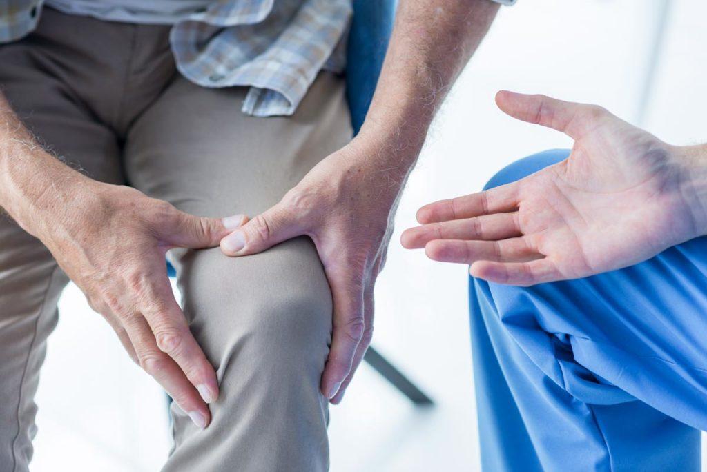 Artroskopia stawu kolanowego u pacjenta